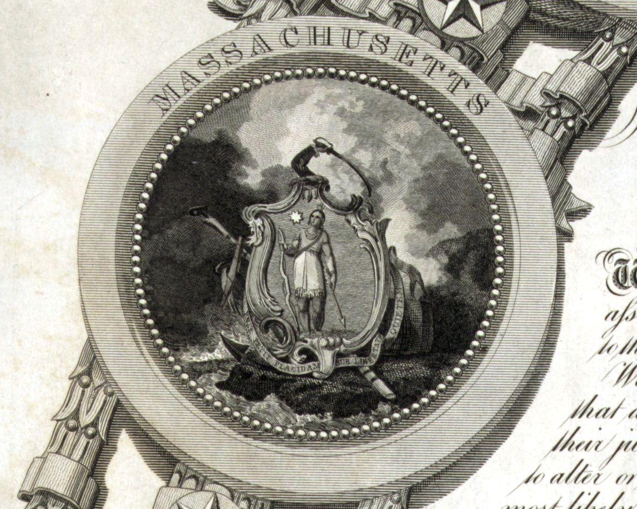 Patriotic America | Arms of Massachusetts