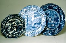 group of plates